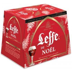 Pack de 12 bières Leffe de Noël - 12x25c (Via 2.98€ sur Carte fidélité)