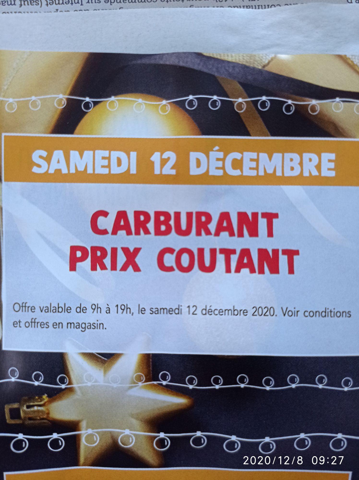 Carburant à prix coûtant - Cérizay, Mauléon, Moncoutant (79) / Mortagne-sur-Sèvre (85)