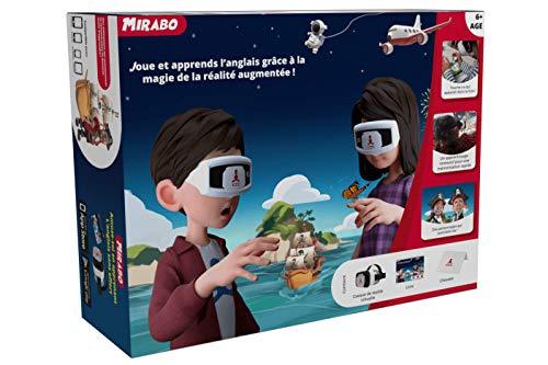 Jeu éducatif en réalité augmentée et virtuelle Mirabo - joue et apprends l'anglais