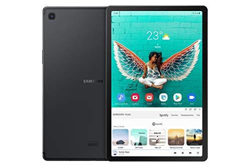 "Tablette tactile 10.5"" Samsung Galaxy Tab S5e - WQHD+, SnapDragon 670, 6 Go de RAM, 128 Go, 4G + Wi-Fi, noir (version DE)"