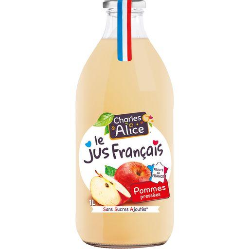 2 bouteilles de jus de fruits frais Charles & Alice (via BDRs) - Saint-Martin-Boulogne (62)