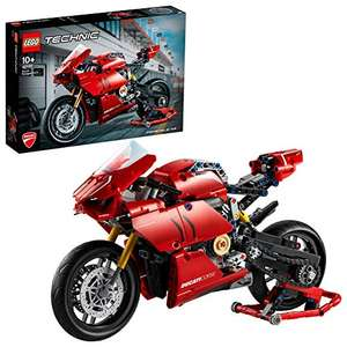 Jeu de construction Lego Ducati Panigale V4 R Technic (42107)