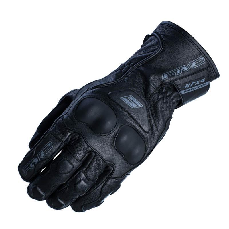 Gants de moto Mi-Saison Five RFX4 - Cuir, Waterproof (taille au choix)