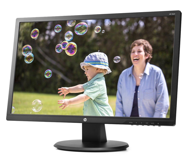 "Ecran PC LED 24"" HP 24UH - Full HD (HDMI, DVI, VGA)"