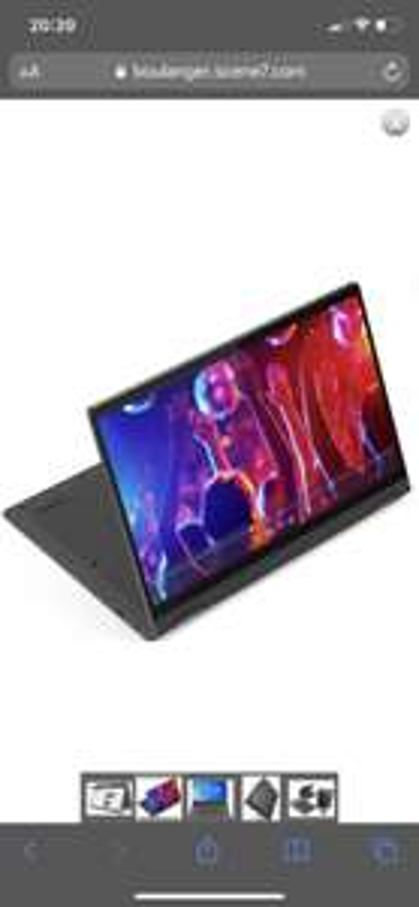 "PC Portable 14"" Lenovo Flex 5 14IIL05-957 - i3, 256 Go SSD, 8 Go de RAM"
