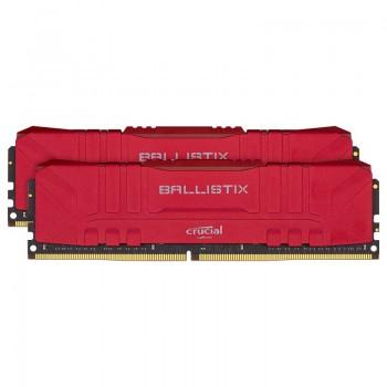 Kit mémoire RAM DDR4 Ballistix Red 16 Go (2 x 8 Go) - 3600 MHz, CL16