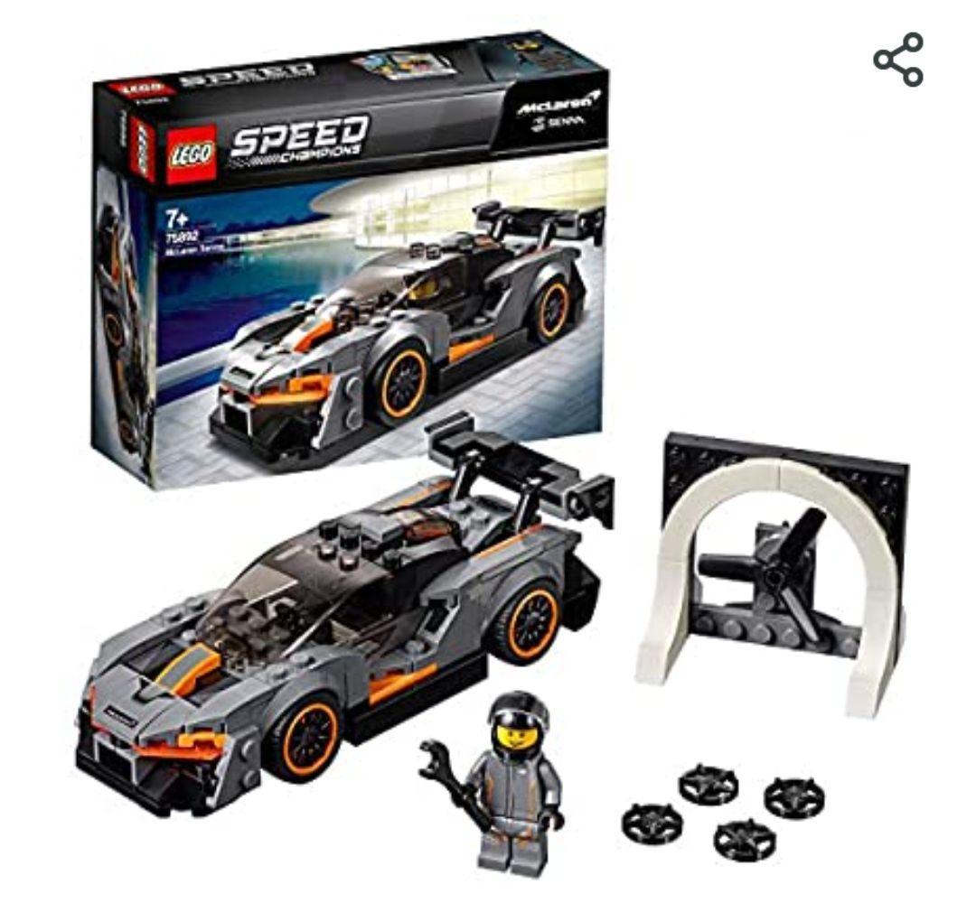Jeu de construction Lego Speed Champions McLaren Sennan°75892