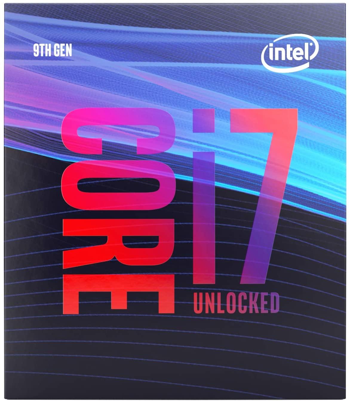 Processeur Intel core i7-9700k - LGA1151 (Frais d'importation inclus)