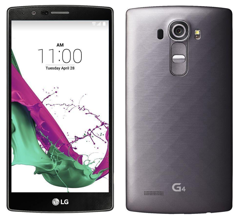 "Smartphone 5.5"" LG G4 H815 32 Go - Gris métallisé"