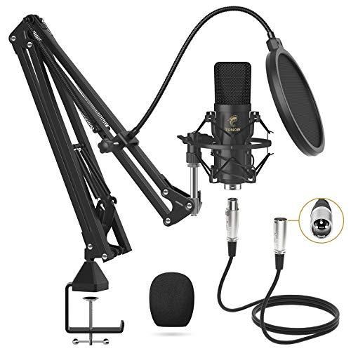 Microphone à Condensateur Tonor T20 - XLR avec Bras (Vendeur tiers)