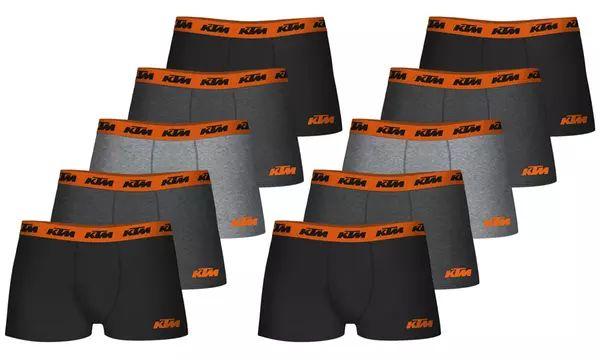 Pack de 10 boxers Homme KTM (Plusieurs tailles)
