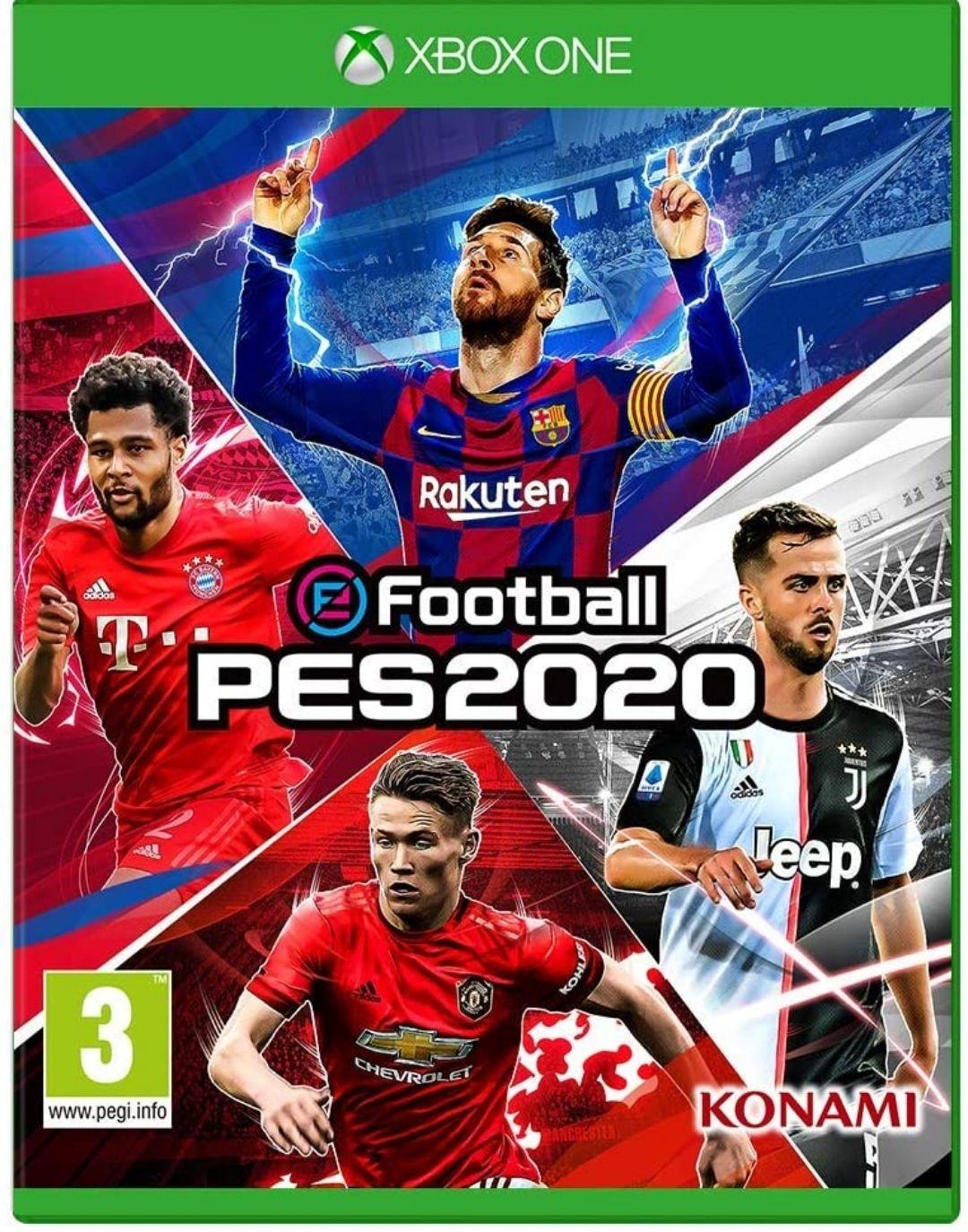 PES 2020 sur Xbox One