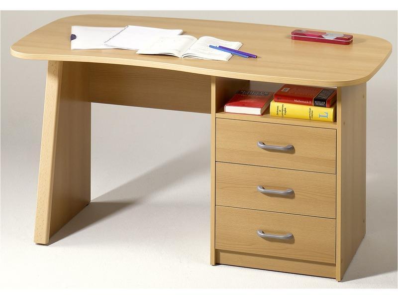 Bureau Adam : 1 niche, 3 tiroirs