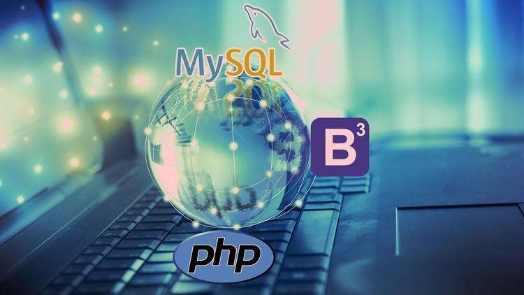 Formation gratuite pour apprendre le langage PHP et Bootstrap3 plus de 19h de cours (en Anglais)