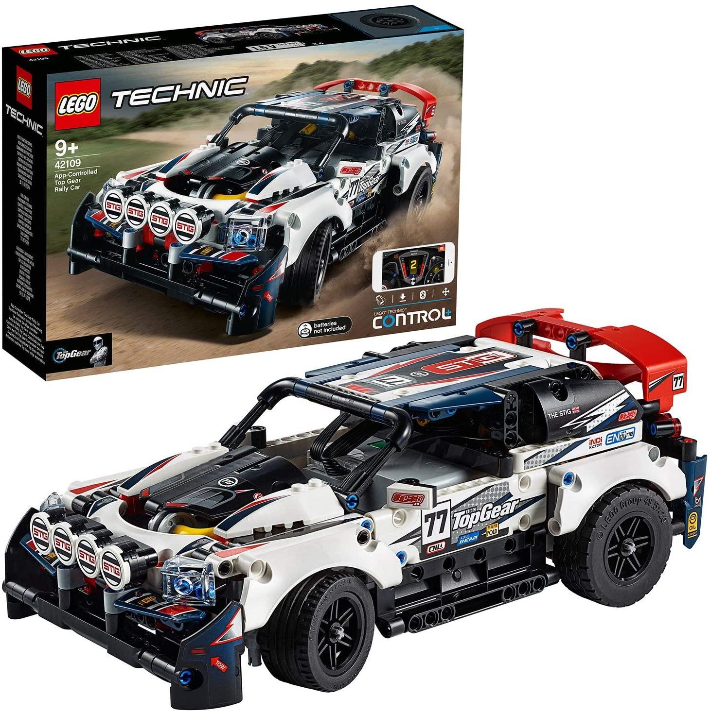 Jeu de construction Lego Technic 42109 - La voiture de rallye contrôlée