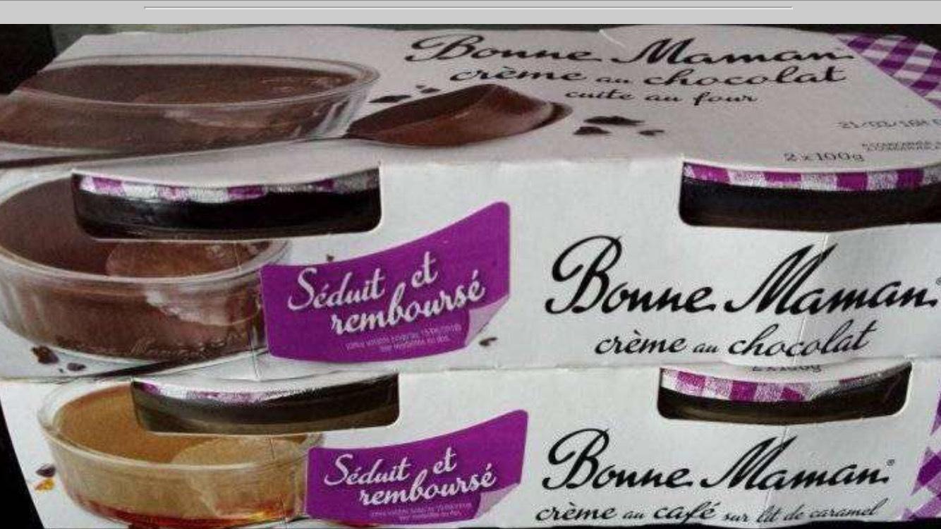 Crème dessert Bonne Maman Gratuite via ODR