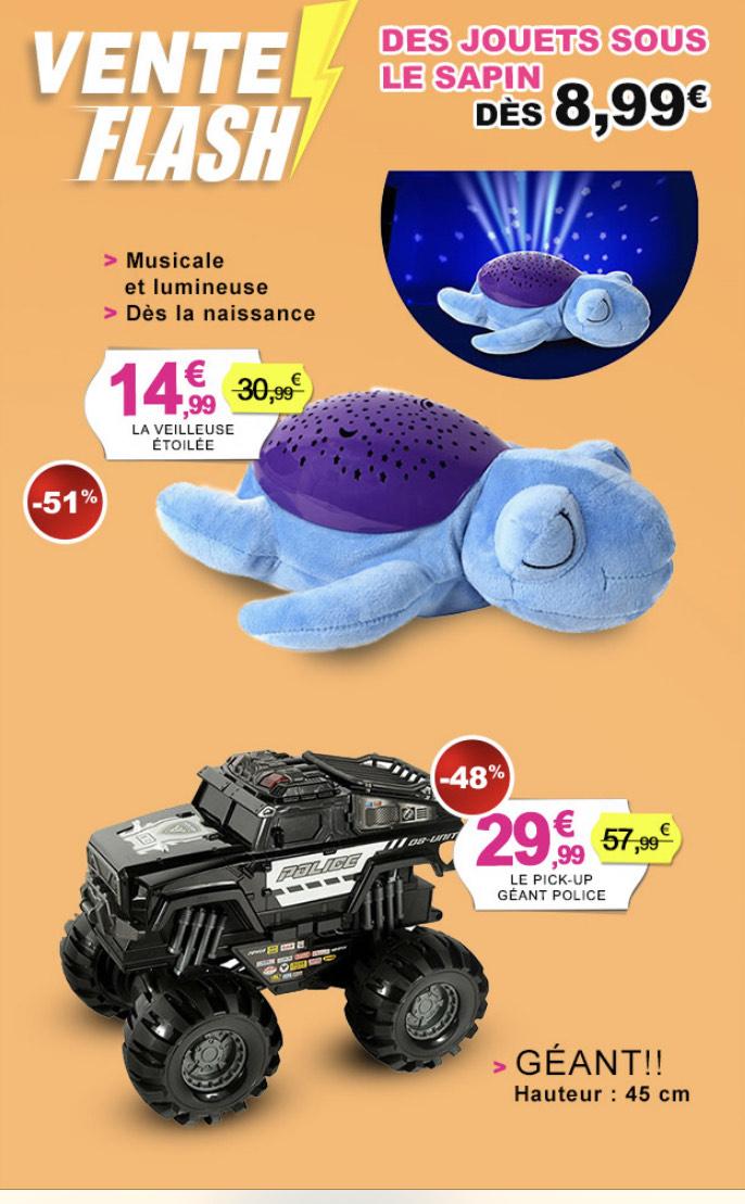 Sélection de jouets en promotion - Ex: Veilleuse étoilée