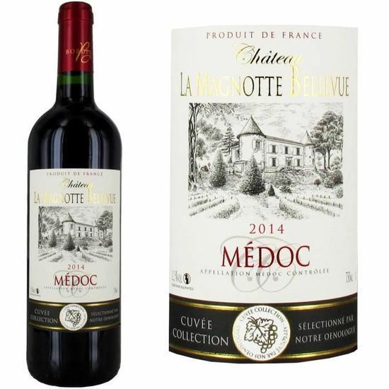 Château La Magnotte Bellevue Médoc 2014 - Vin rouge