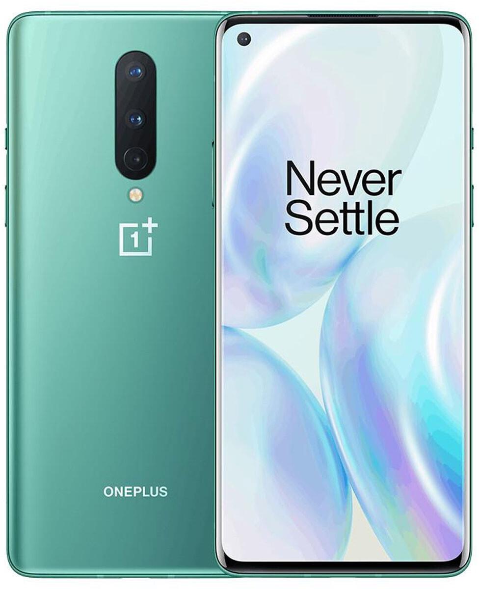 """Smartphone 6.55"""" OnePlus 8 (full HD+ 90 Hz, SnapDragon 865, 12 Go de RAM, 256 Go, différents coloris) + écouteurs OnePlus Type-C Bullets"""