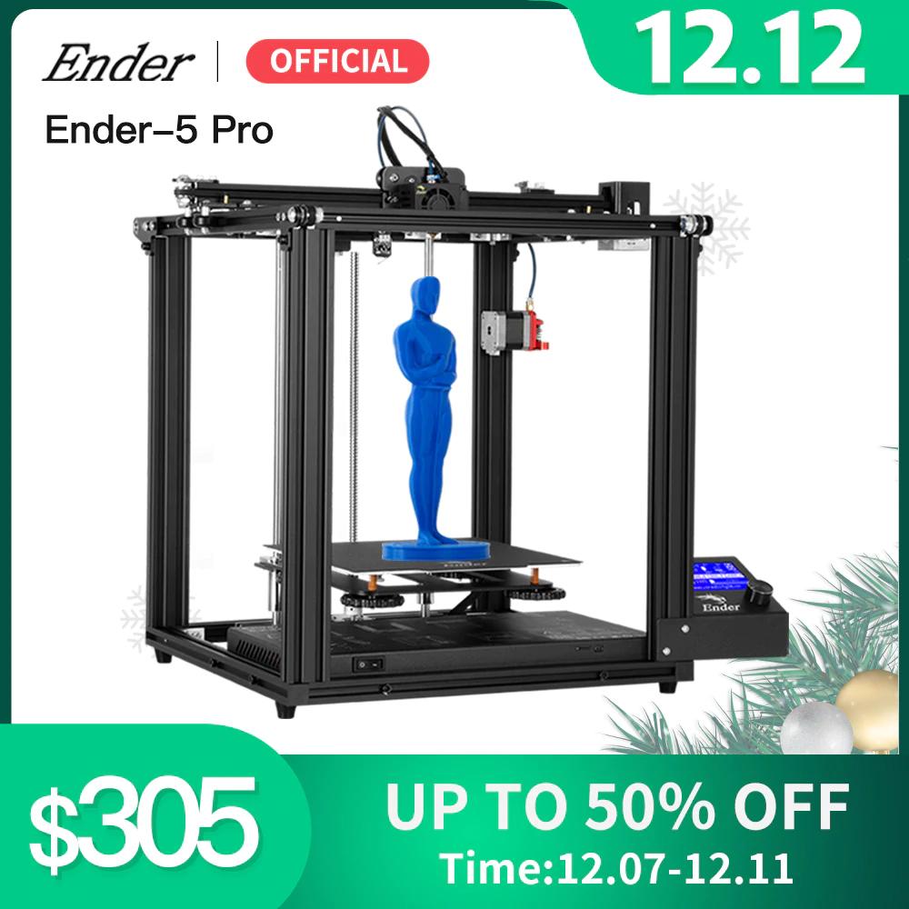Imprimante 3D Creality Ender 5-Pro - entrepôt FR (250.32€ via DECSELL8)