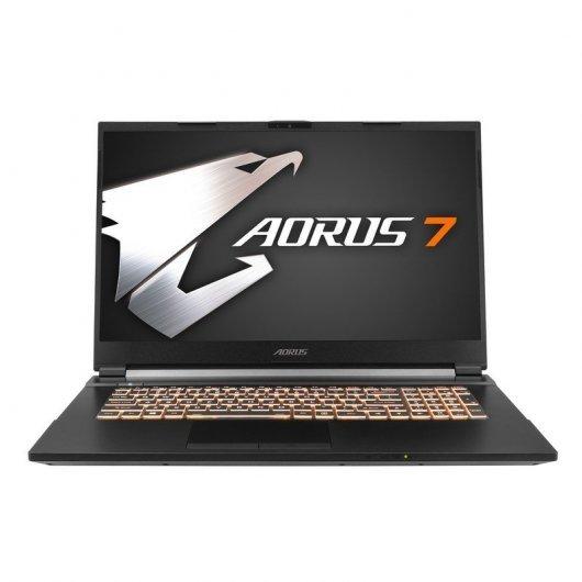 "PC Portable 17.3"" Gigabyte Aorus 7 - Full HD 144Hz, i7-10750H, 16 Go RAM, 512 Go SSD, RTX 2060 (QWERTY)"