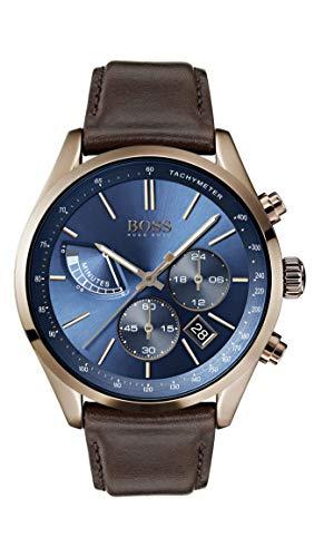 Montre Homme avec bracelet en cuir Hugo Boss 1513604