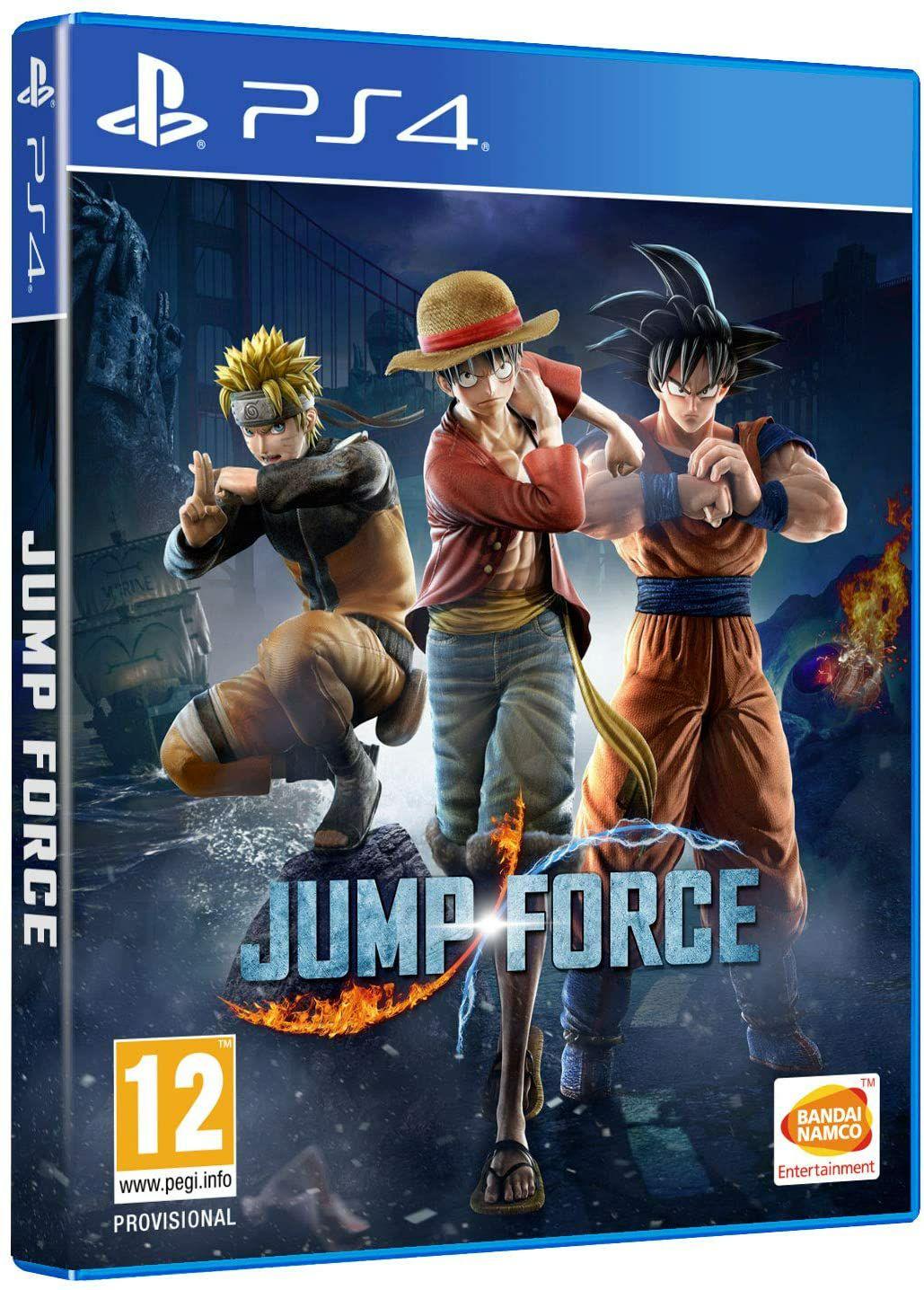 Jeu Jump Force sur PS4