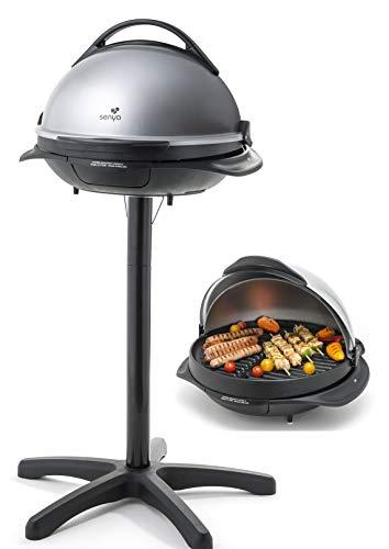 Barbecue électrique 2 en 1 sur Pied et sur Table Senya SYCK-G043