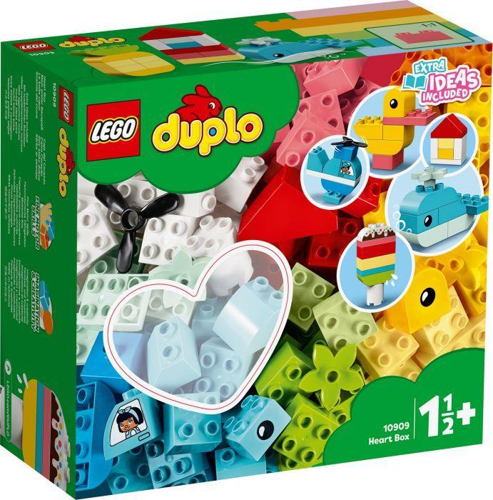 Jeu de cosntruction Lego Duplo La boîte coeur n°10909 - Leclerc Caudry (59)