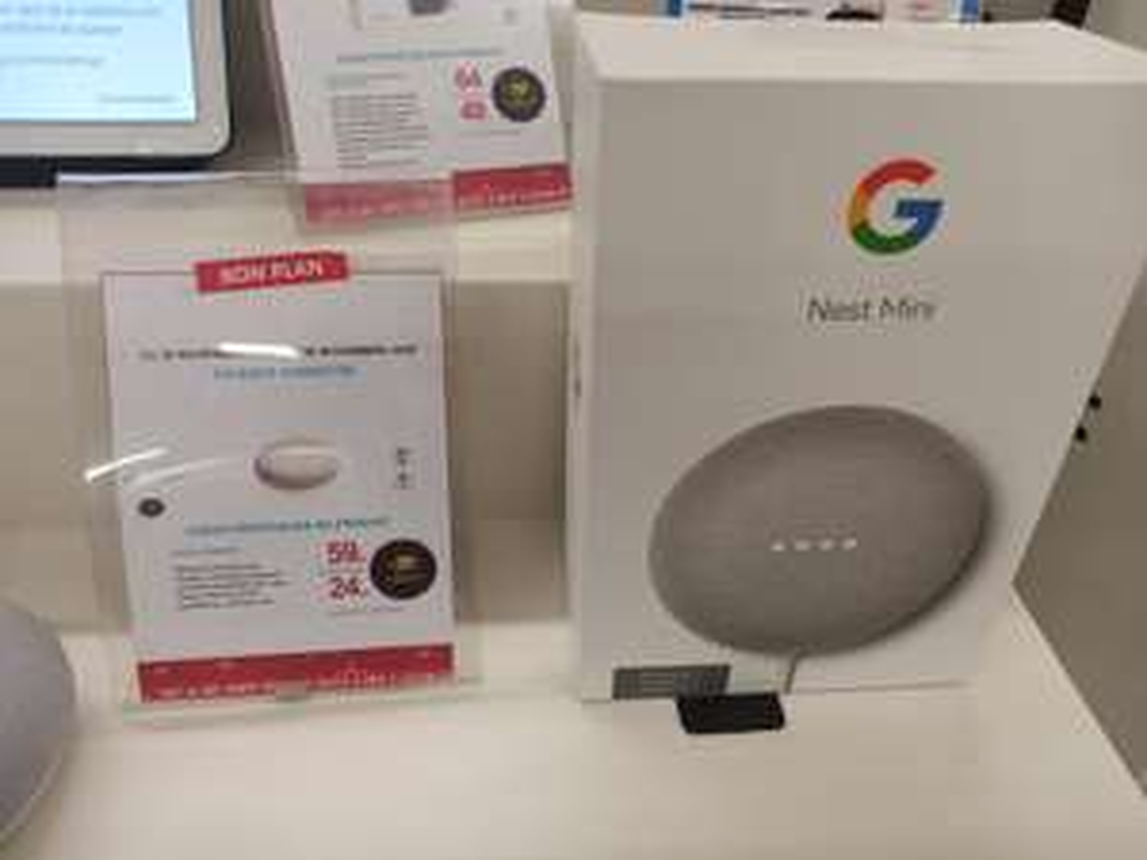 Enceinte connectée Google Nest Mini