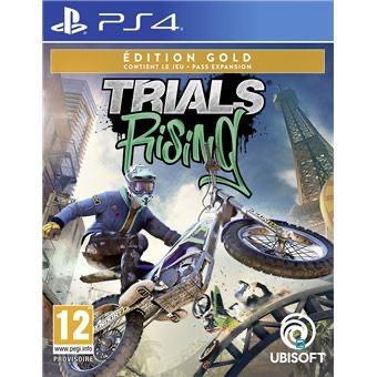 Jeu Trials Rising Edition Gold sur PS4/Xbox one + Porte clé lapins crétins