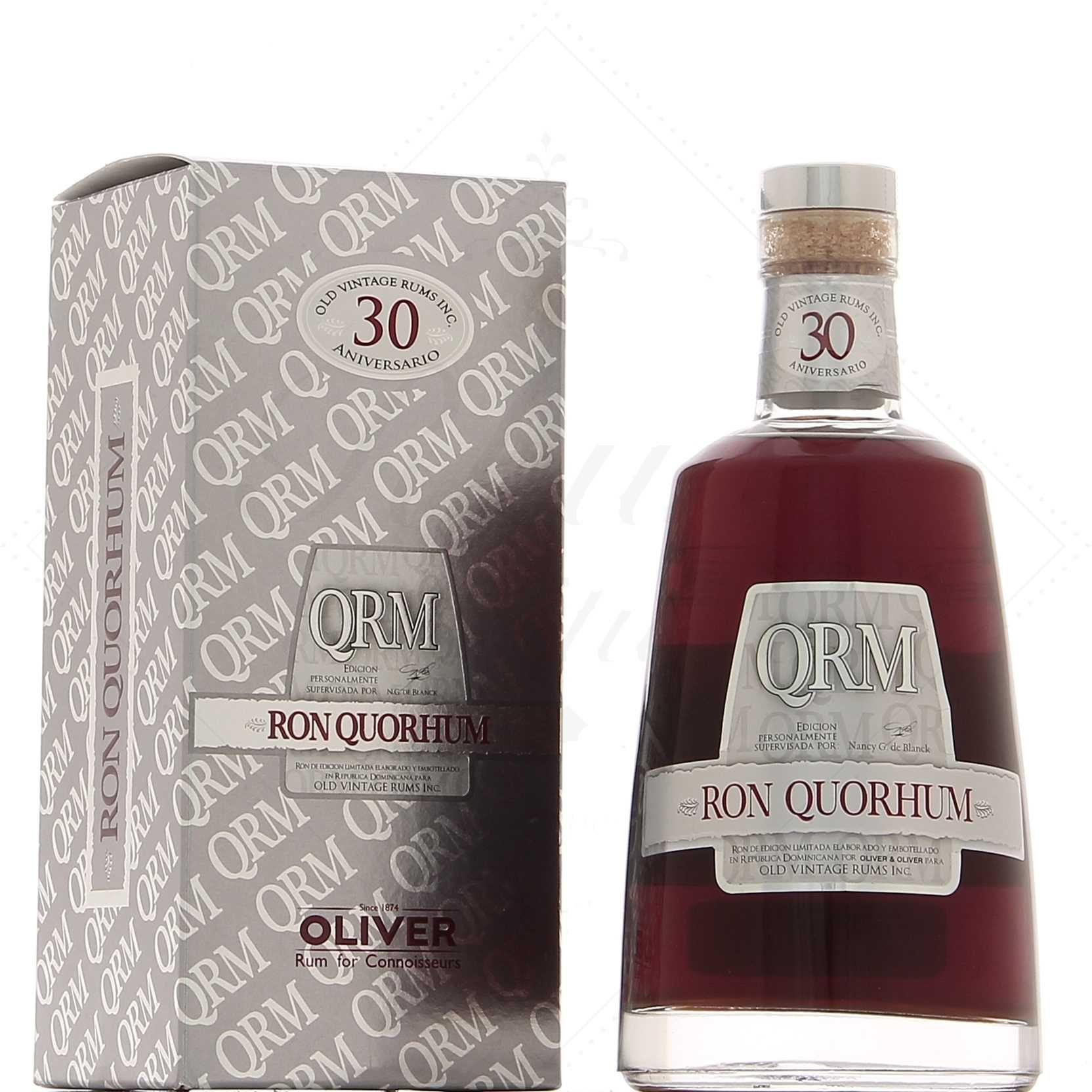 Bouteille de Rhum Quorhum 30 Years Old Rum - 70 cl