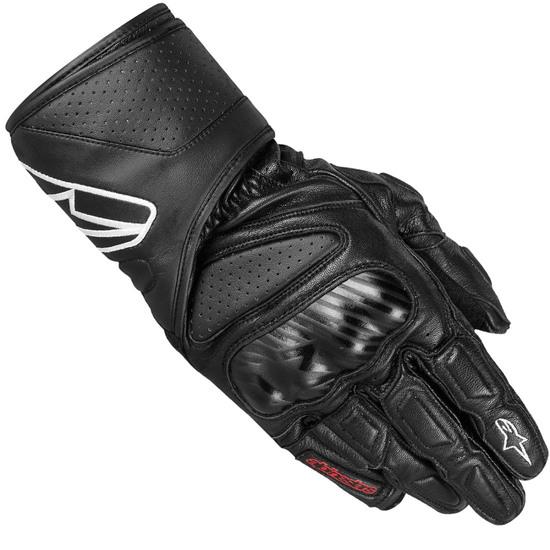 Gants de moto Alpinstars SP-8 - Noir, Tailles au choix