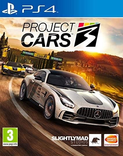 Project Cars 3 sur PS4 à 24,99€ et sur Xbox One à 29,99€