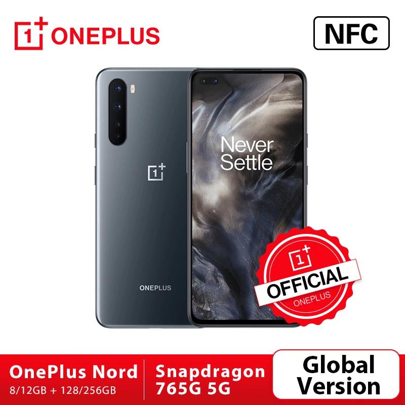"Smartphone 6.44"" Oneplus Nord - 128Go (Plug UK)"