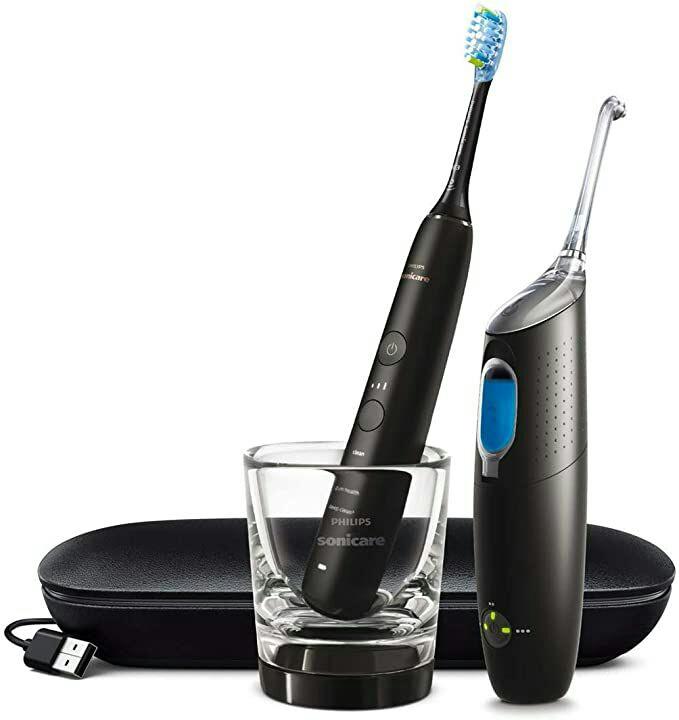 Brosse à dents électrique Philips Sonicare HX8494/03 AirFloss Ultra +DiamondClean 9000
