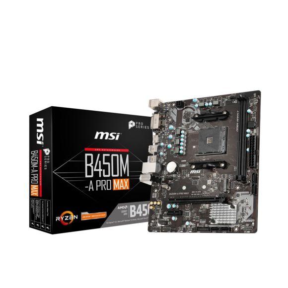 Carte Mère MSI AMD B450M-A Prox Max - Micro-ATX