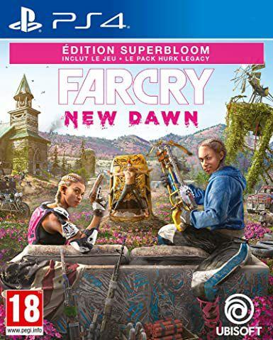 Far Cry New Dawn - Edition Superbloom sur PS4 (via retrait dans sélection magasins)