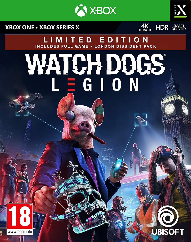 Jeu Watch Dogs Legion Limited Edition sur Xbox One/Xbox Series X (Reconditionné - Très Bon)