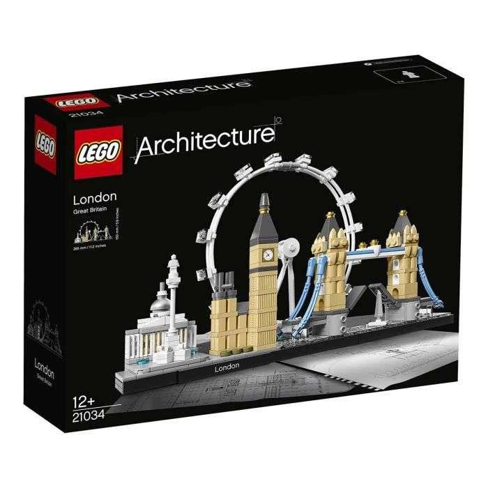 Jouet Lego Architecture Londres 21034