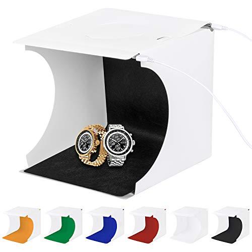 Mini-studio photo pliable Sanlinkee - différentes couleurs de fond (vendeur tiers)