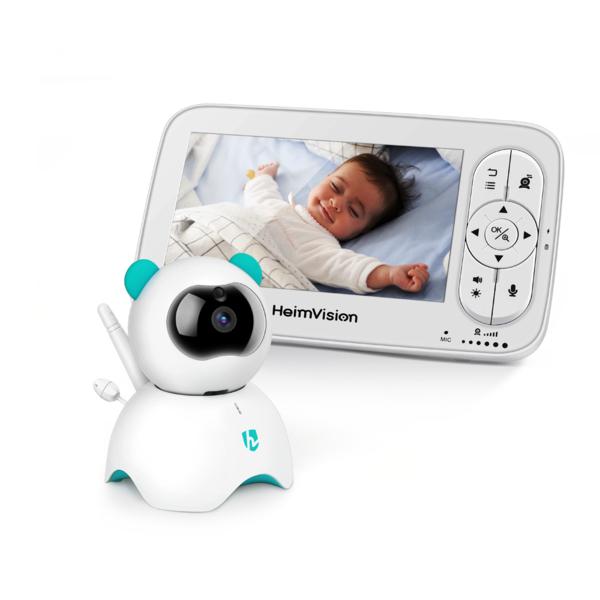 Babyphone Caméra heimvision HM136 écran 5 pouces HD720P (heimvision.com)