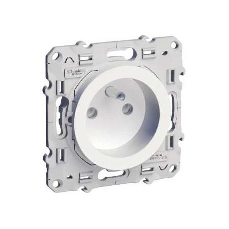 Sélection de produits Schneider en promotion - Ex: Prise de courant 2 P+T Odace (elec44.fr)