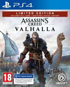 Assassin's Creed Valhalla Limited Edition sur PS4 (PS5), Xbox One et Series