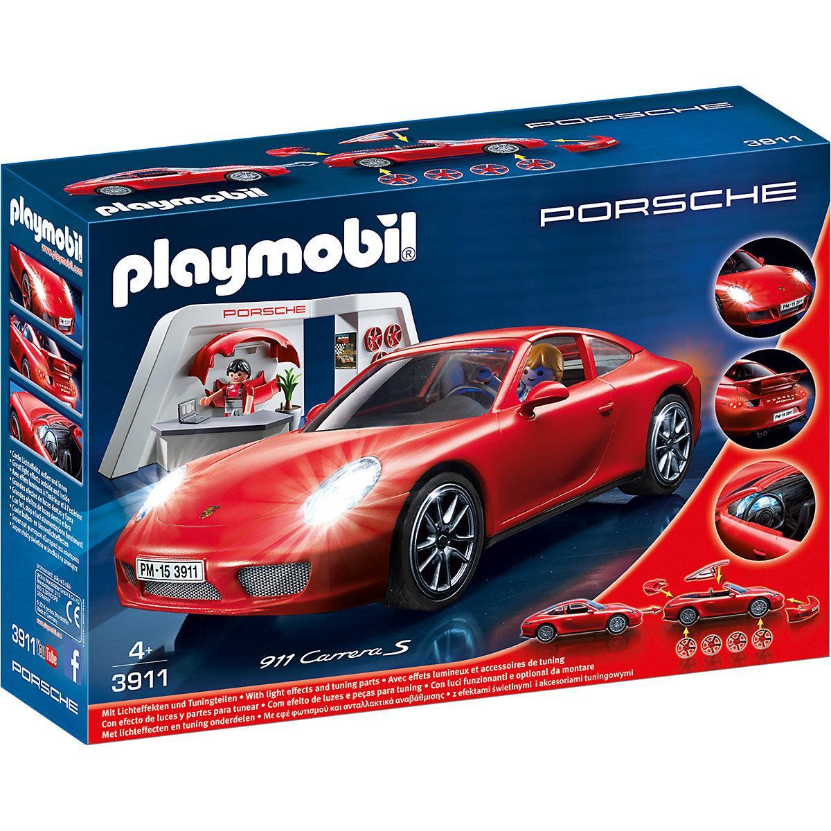 Jouet Playmobil - Porsche 911 Carrera S