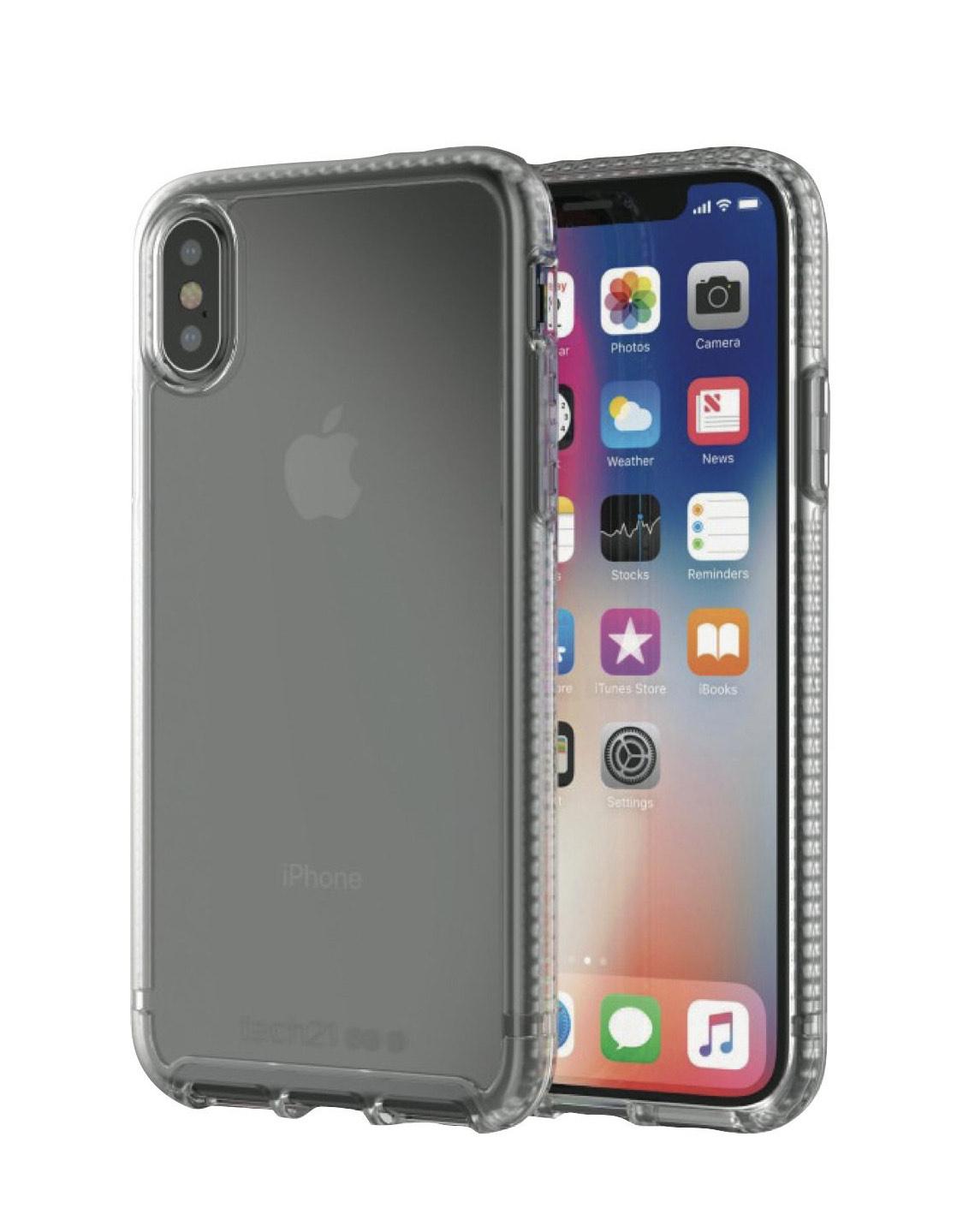 Coque de protection pour smartphone Apple iPhone X/XS Tech 21 Evo Tactical - noir