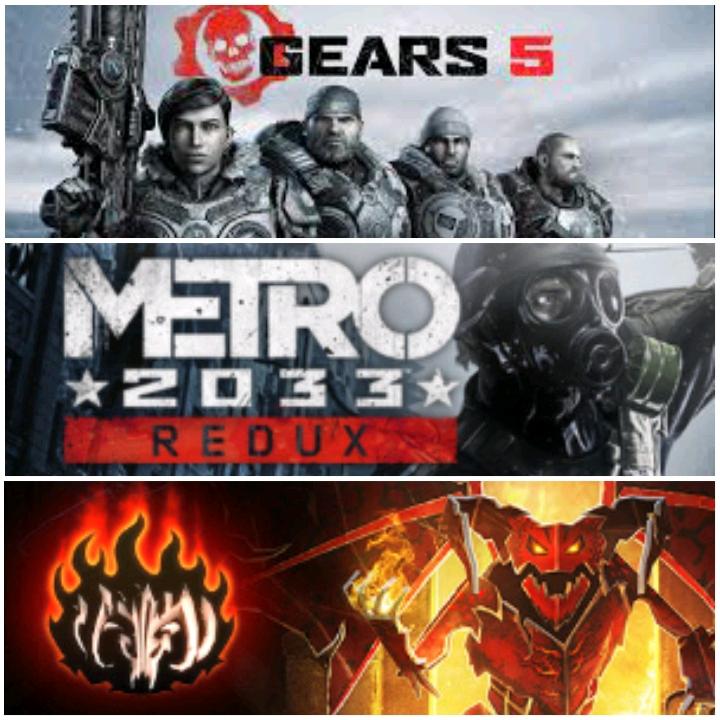 [Gold] Gears 5, Metro 2033 Redux & Book of Demons jouable gratuitement ce week-end sur Xbox One, Xbox Series X/S (Dématérialisé)