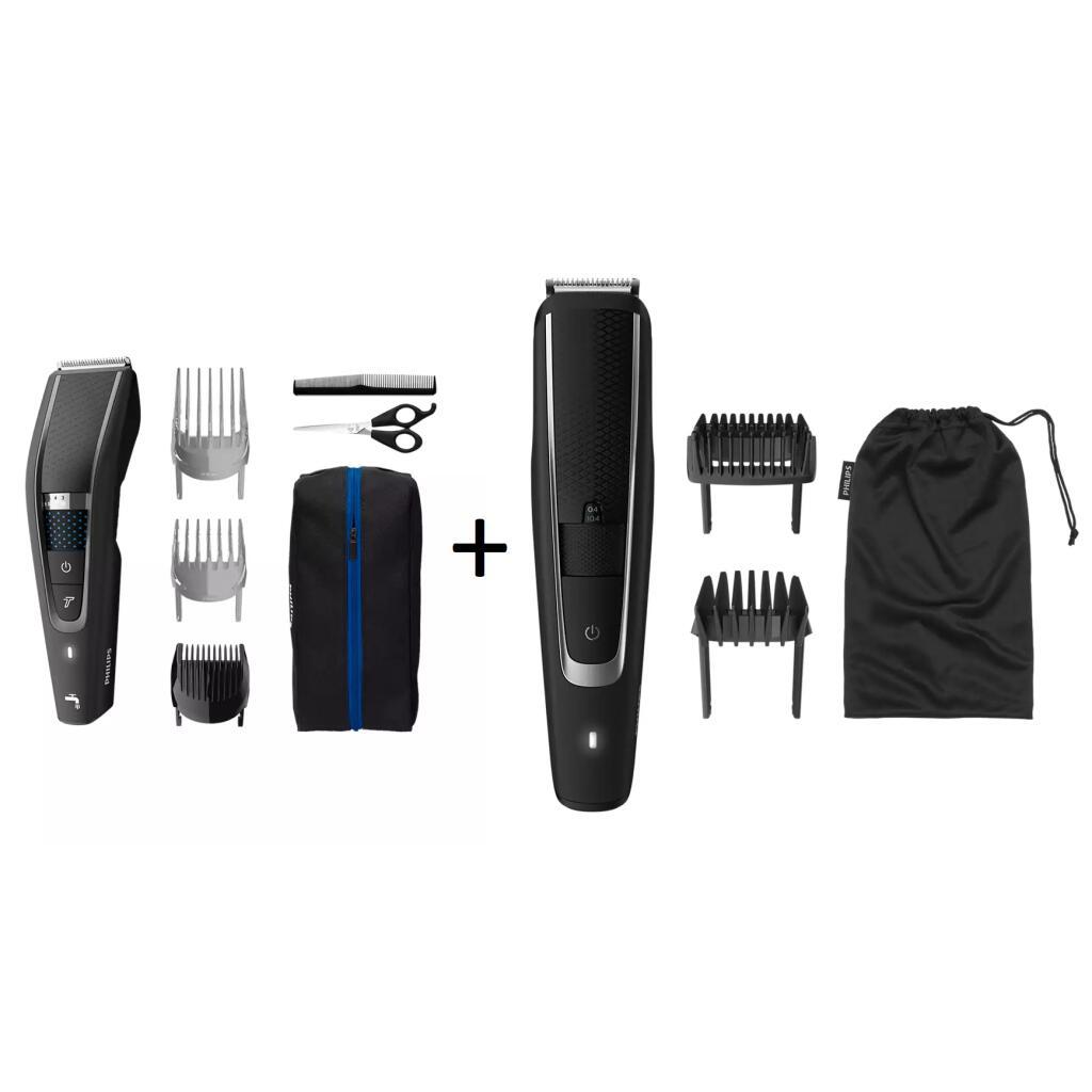 Pack Tondeuse à cheveux Philips HC5632/15 + Tondeuse à barbe Philips BT5501/16 (39,19€ via code promo / 34,20€ via Unidays)