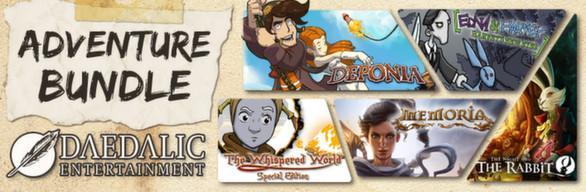 Daedalic Adventure Bundle 5 Jeux sur PC (Dématérialisé)
