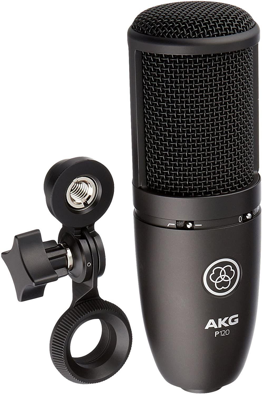 Microphone Studio à condensateur cardioïde XLR AKG P120 (energyson.fr)